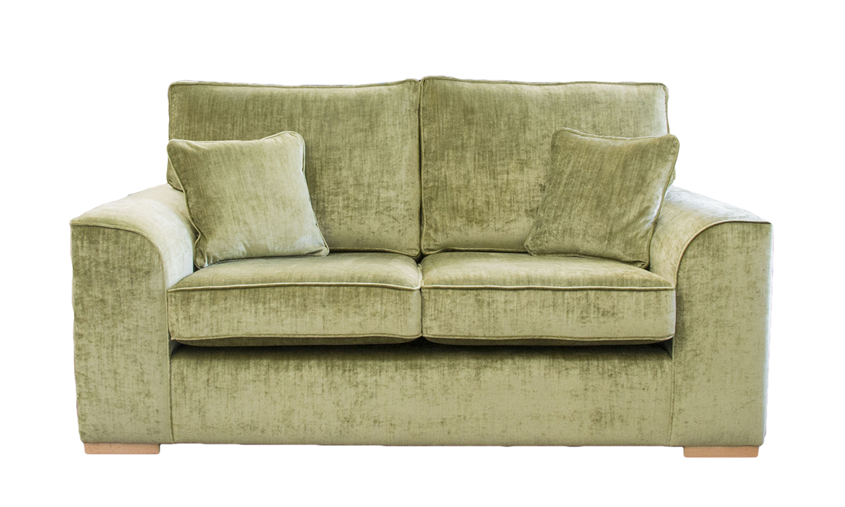 Leon 3 Seater Sofa  in Mancini Citrus, Gold Collection Fabric