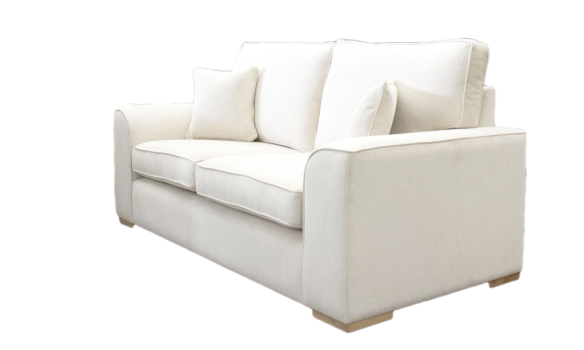 Leon 3 Seater Sofa in a Gold Collection Fabric