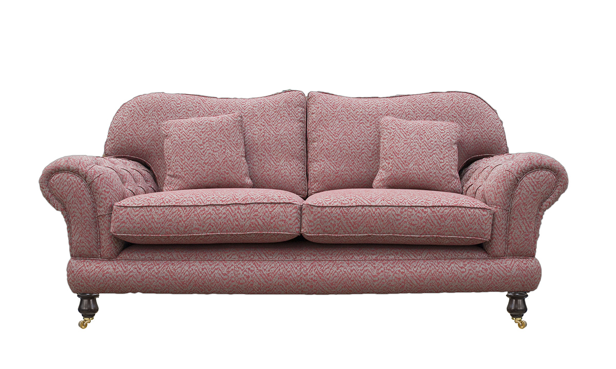 Alexandra 3 Seater Sofa with Deep Button Arms (bespoke option)in Customers Own Fabric