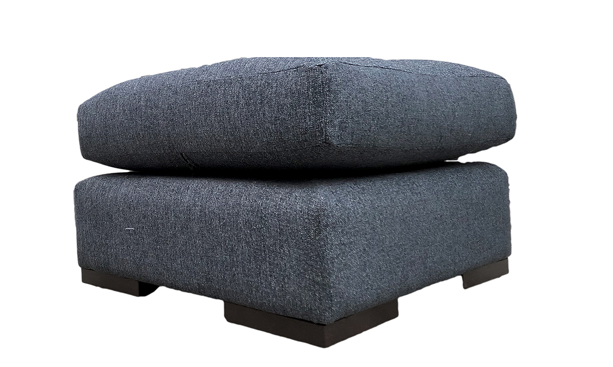 Colorado Footstool in Discontinued Fabric