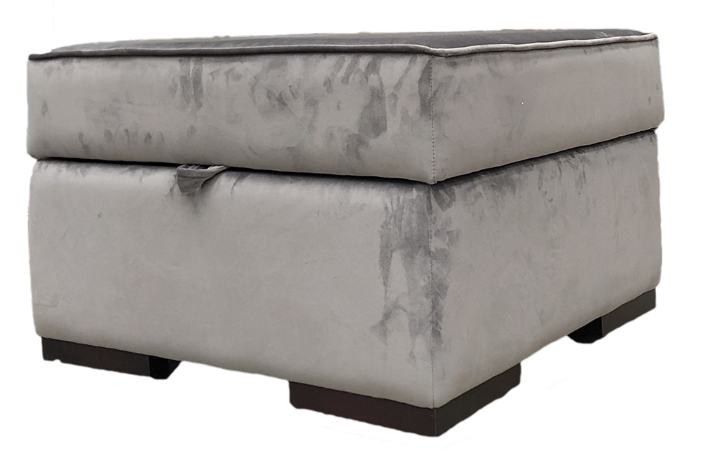 Atlas Storage Footstool Atlas Storage Footstool Discontinued Fabric