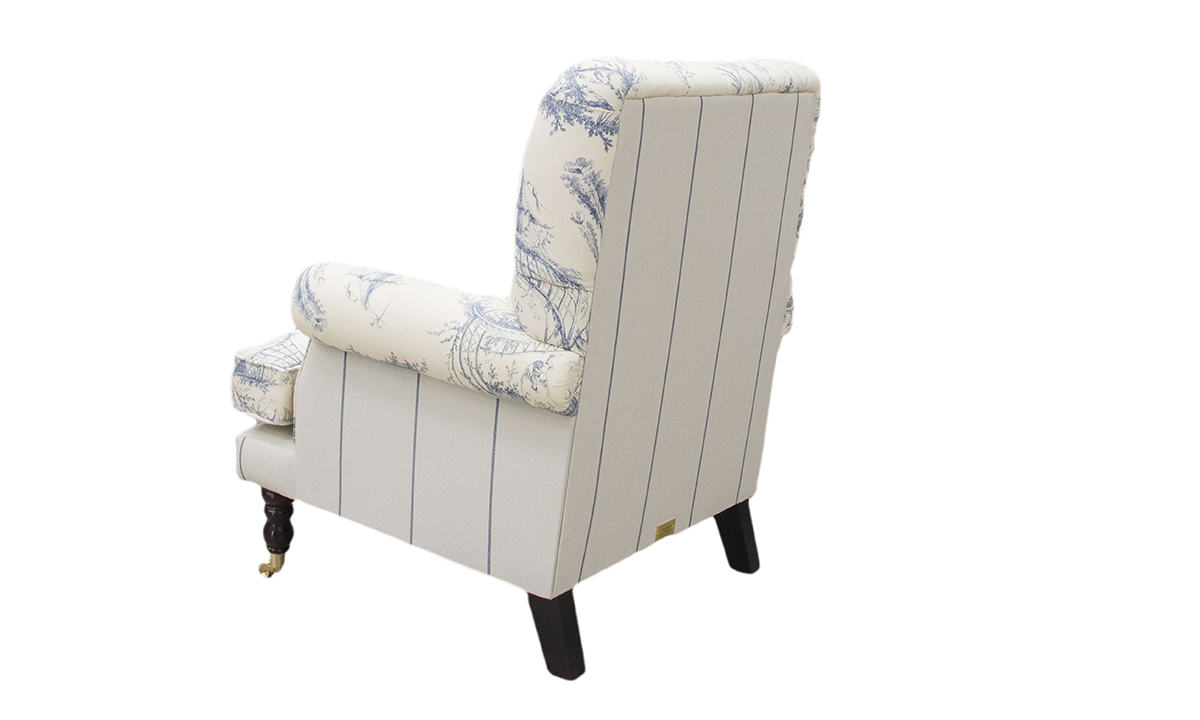 Bespoke Cleary Depp Buttoned Back Chair in Customers Own Fabric