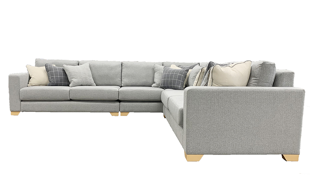 Collins Corner Sofa in a Discontinued Fabric