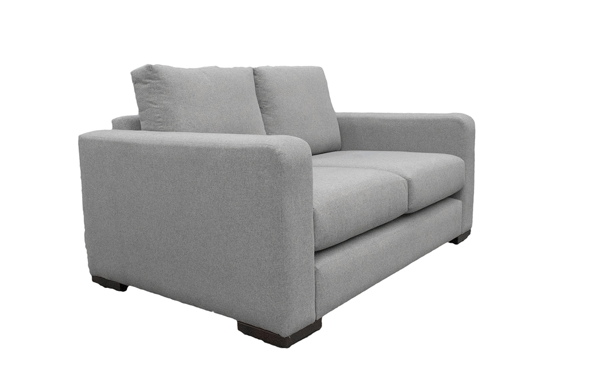 Collins 2 Seater Sofa in Shetland Pewter