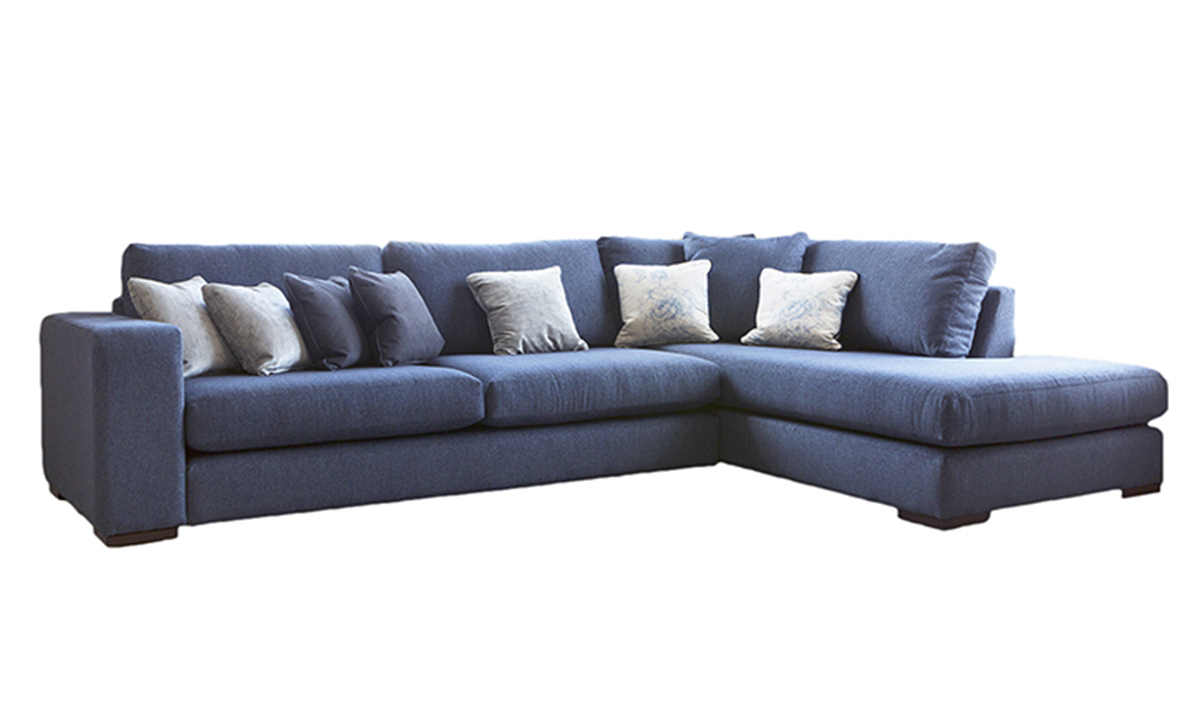 Colorado Chaise Sofa in Discontinued Fabric