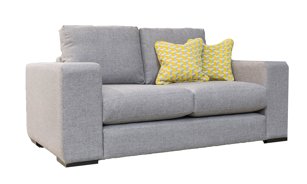 Colorado 2 Seater in Luca Grey, Bronze Collection Fabric - 518567
