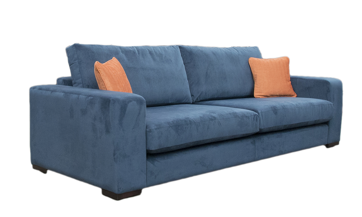Colorado  3 Seater Sofa in Gold Collection Fabric