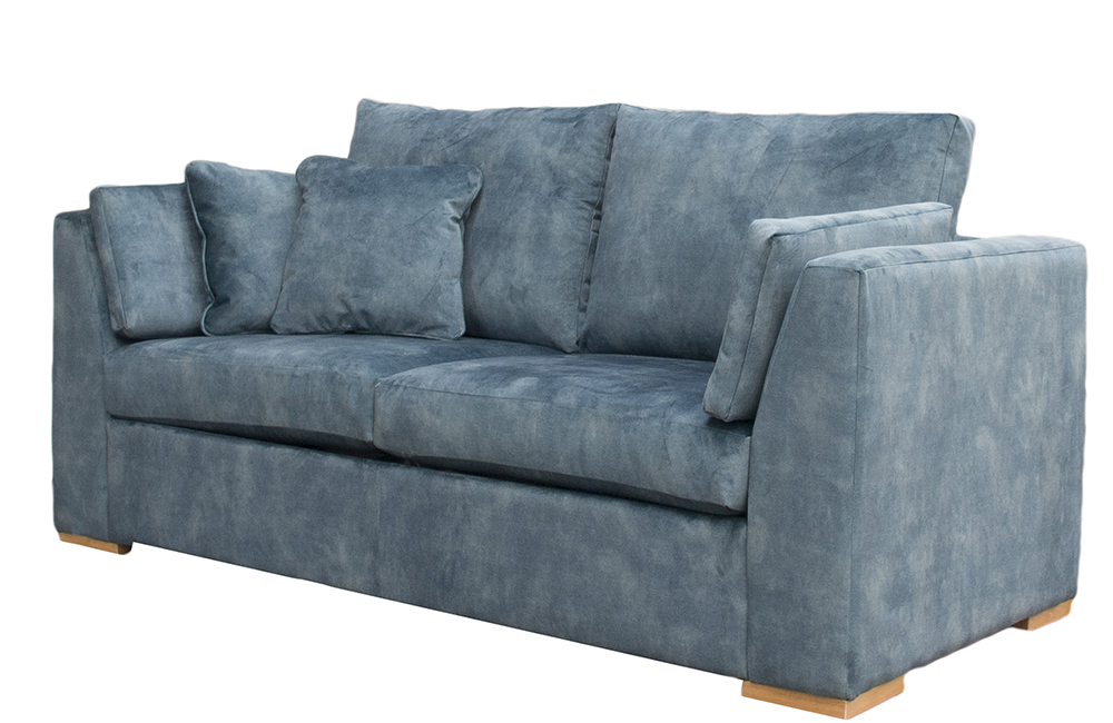 Bespoke Como 2 Seater Sofa in Ocean Jade Gold Collection