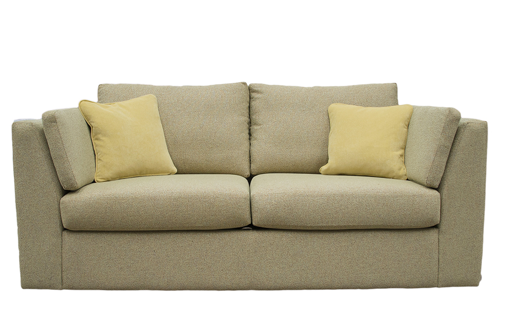 Como 2 Seater Sofa in  Belize Pistachio, Bronze Fabric Collection