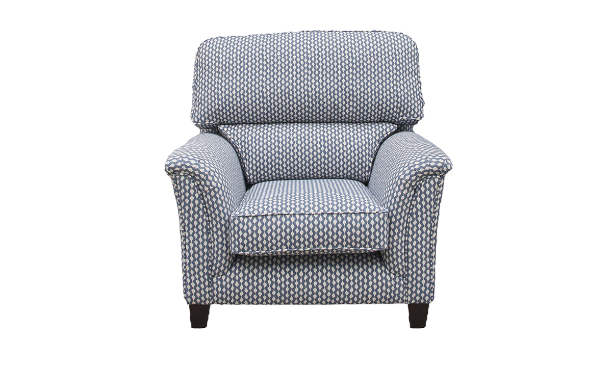 Cumbria Chair in Warwick Gala Indigo