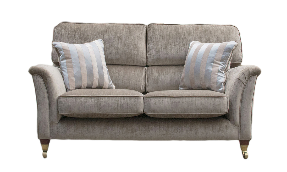 Cumbria 2 Seater Sofa in Mancini Champagne, Gold Collection Fabric