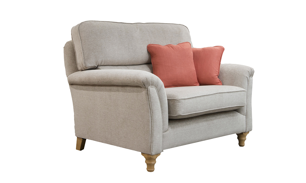 Cumbria Love Seat Side in Customers Own Fabric