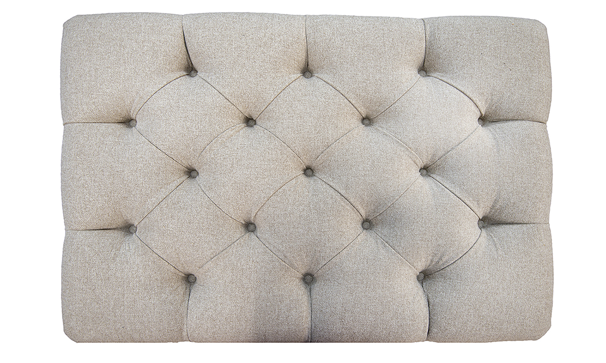 Deep-Button-Storage-Footstool-top-view-in-Soho-Oatmeal-Silver-Collection-Fabric