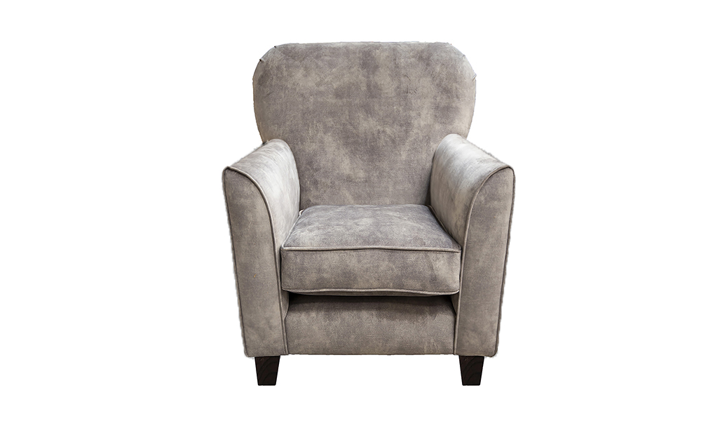 Dylan Chair in Lovely Armour, Gold Collection of Fabrics