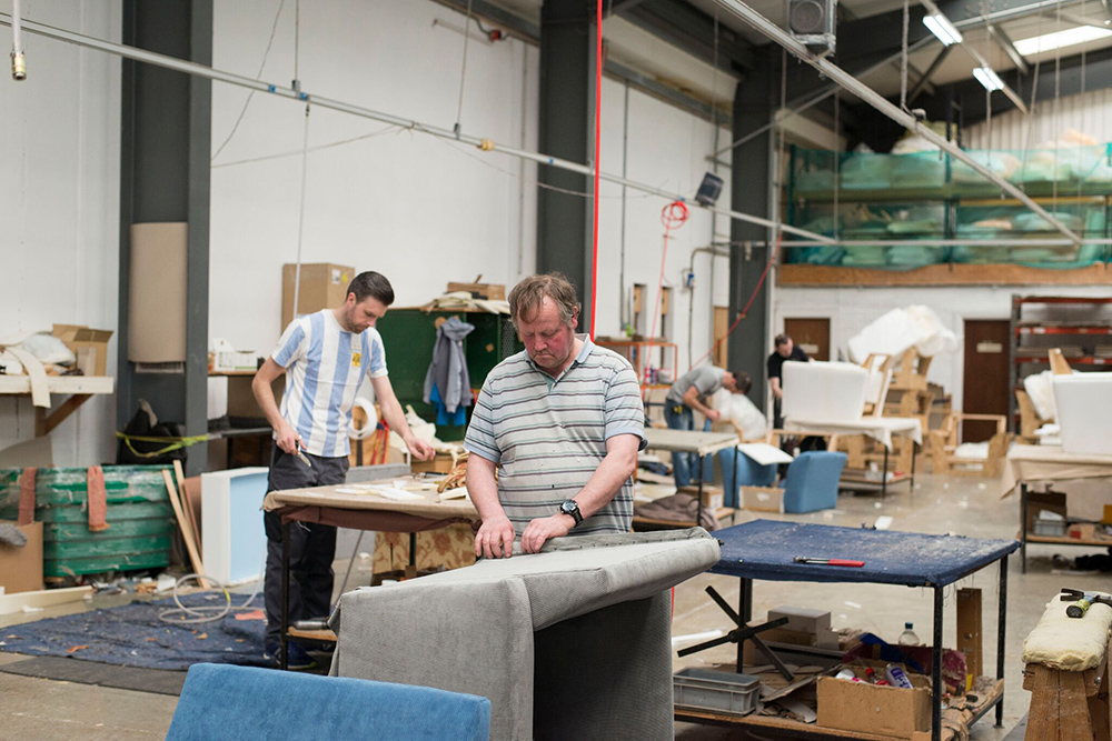 Upholsterers Area