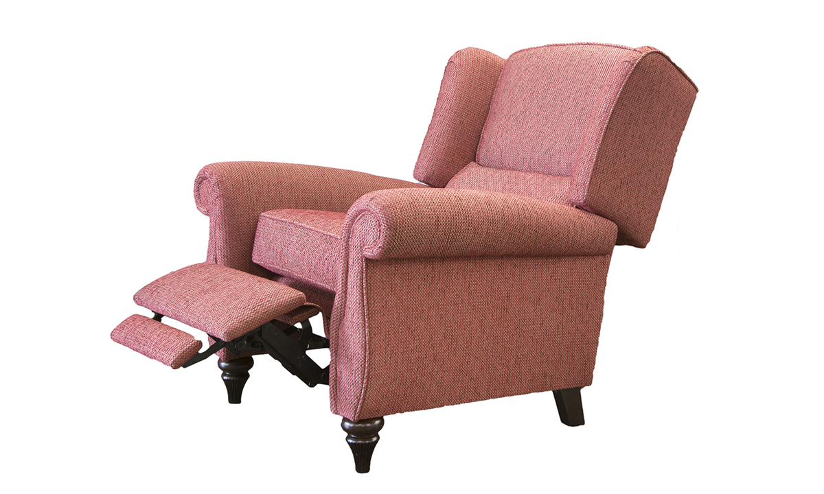 Greville Recliner Chair in Fontington Tessuto 1551