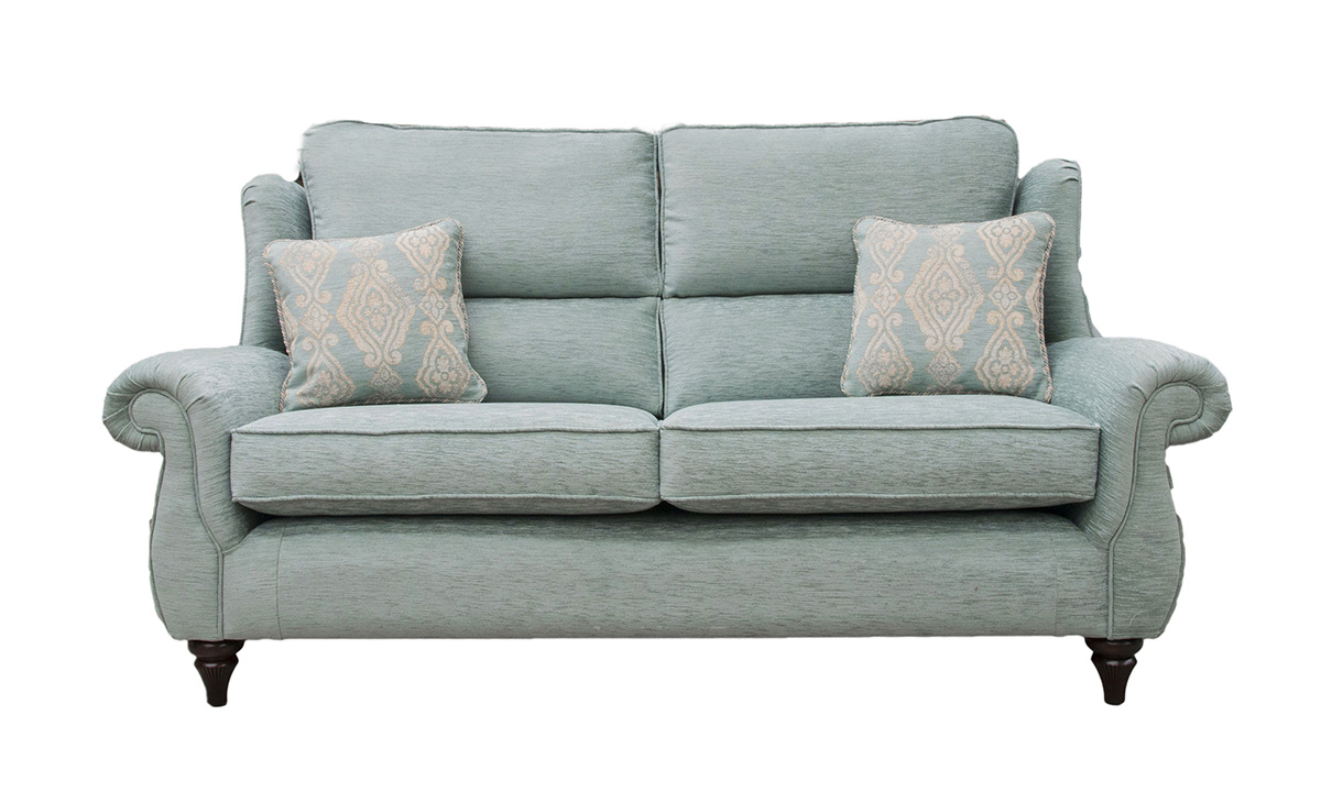 Greville 3 Seater Sofa in 17098, Bronze Collection Fabric