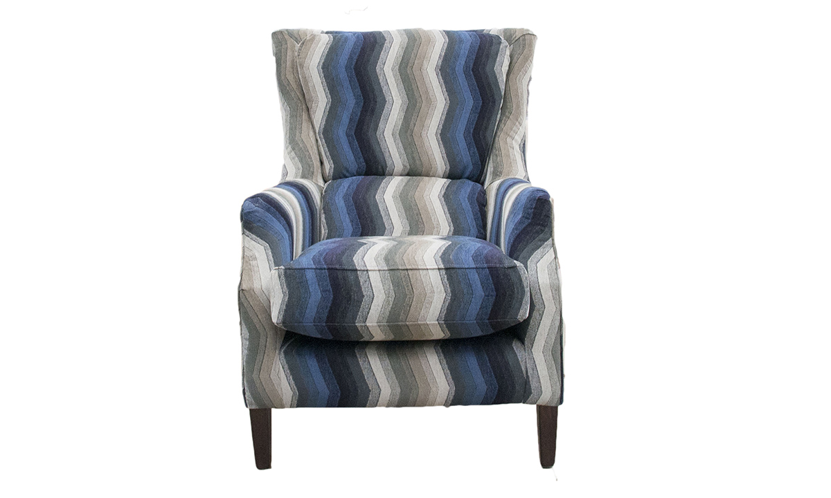 Harvard Chair in 17019, Bronze Collection Fabric