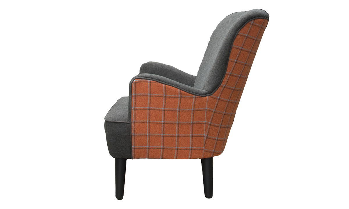 Holly Chair  in Customers Own Fabric