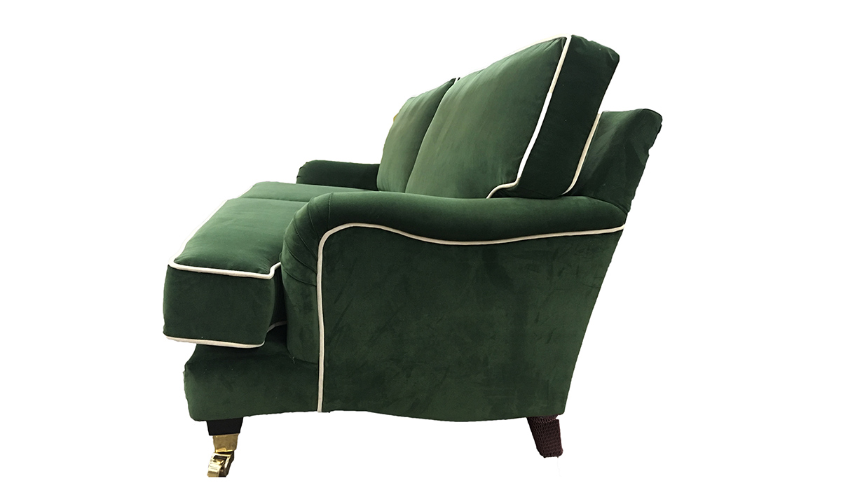 Holmes 3 Seater Sofa in J Brown Monza 14860 Forest Green