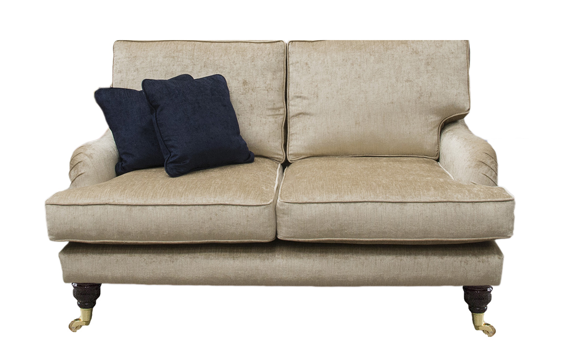 Holmes 2 Seater Sofa in Edinburgh Biscuit, Silver Collection Fabric