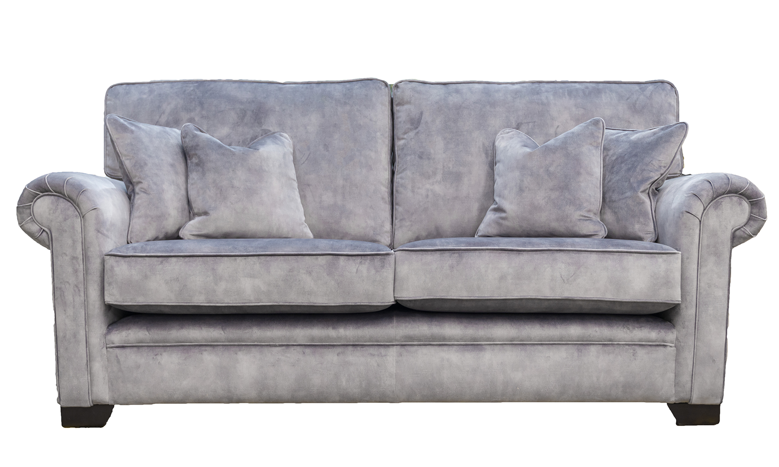 Imperial 3 Seater Sofa in Lovely Armour, Gold Collection Fabric