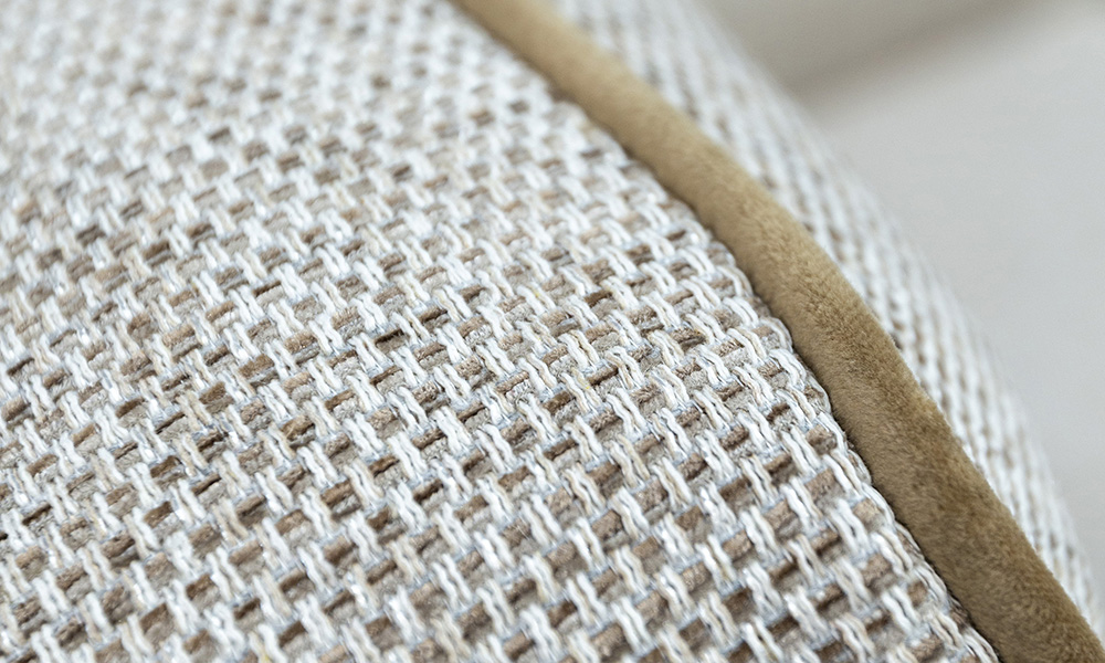 Imperial Chair Detail Bravo Sand, Silver Collection Fabric