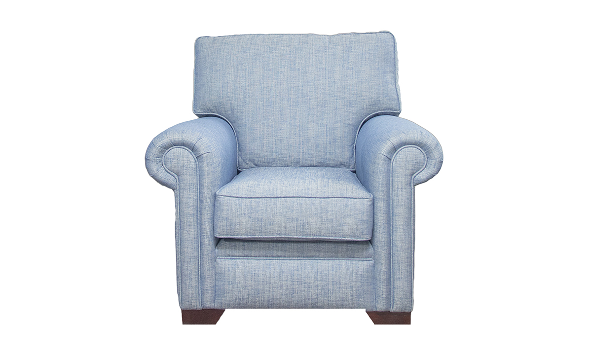 Imperial Chair Volkan Plain, Silver Collection Fabric
