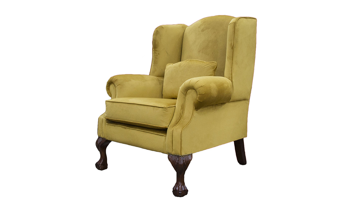King Chair Discontinued Fabric