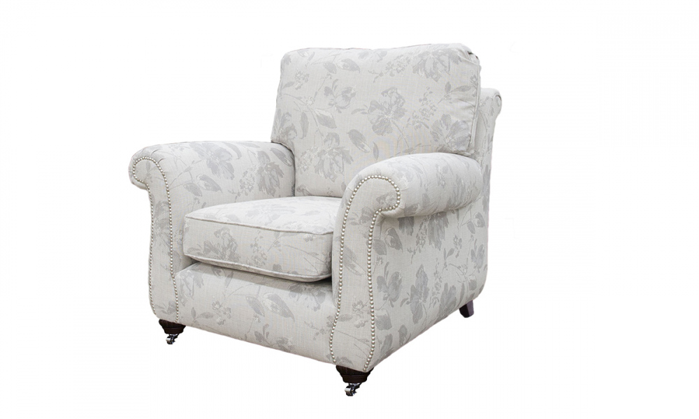 La Scala Chair in  a Discontinued Fabric