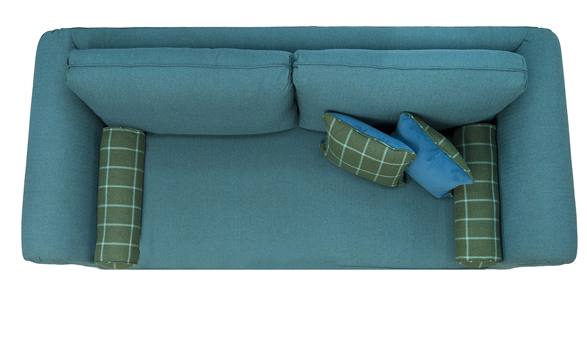 Lafayette Large Sofa Top View Discontinued Fabric
