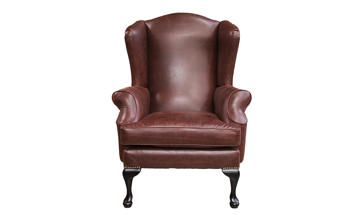 Leather-Queen-Anne-Chair-in-Mustang-Rust