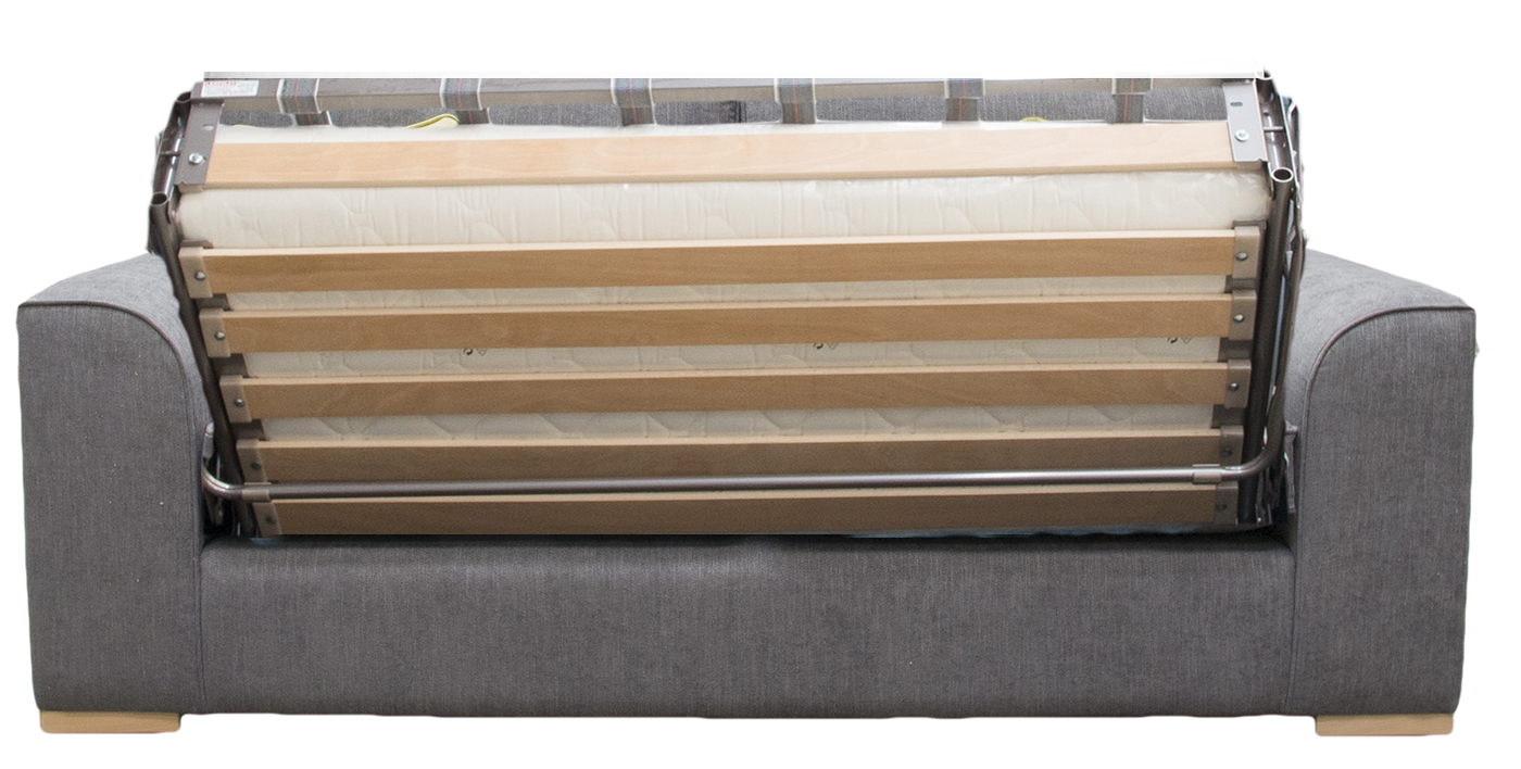 Leon Sofa Bed 4ft6 Bed Action  in Bronze Collection