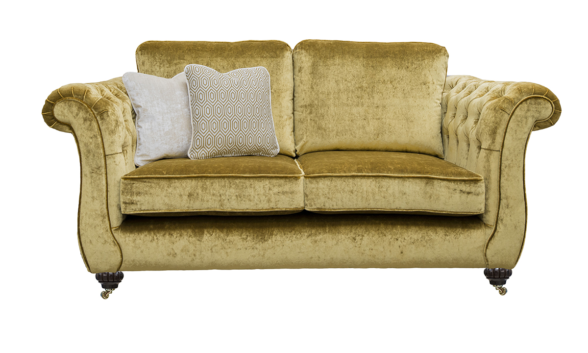 Letrec 3 Seater Sofa with Deep Button Arms in v