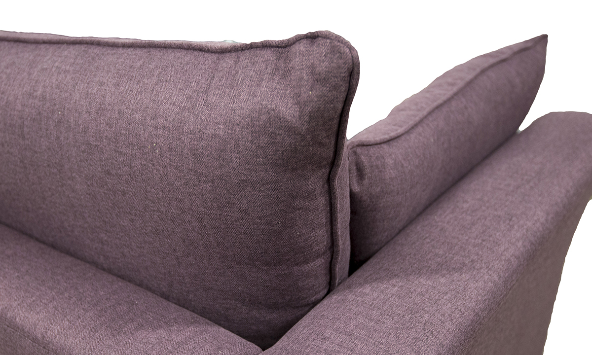 Monroe-Love-Seat-back-in-McKenzie-Col-16-Aubergine-Silver-Collection-of-Fabrics