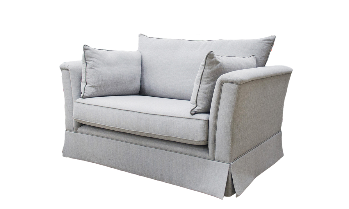 Madison Love Seat in a Discontinued Fabric