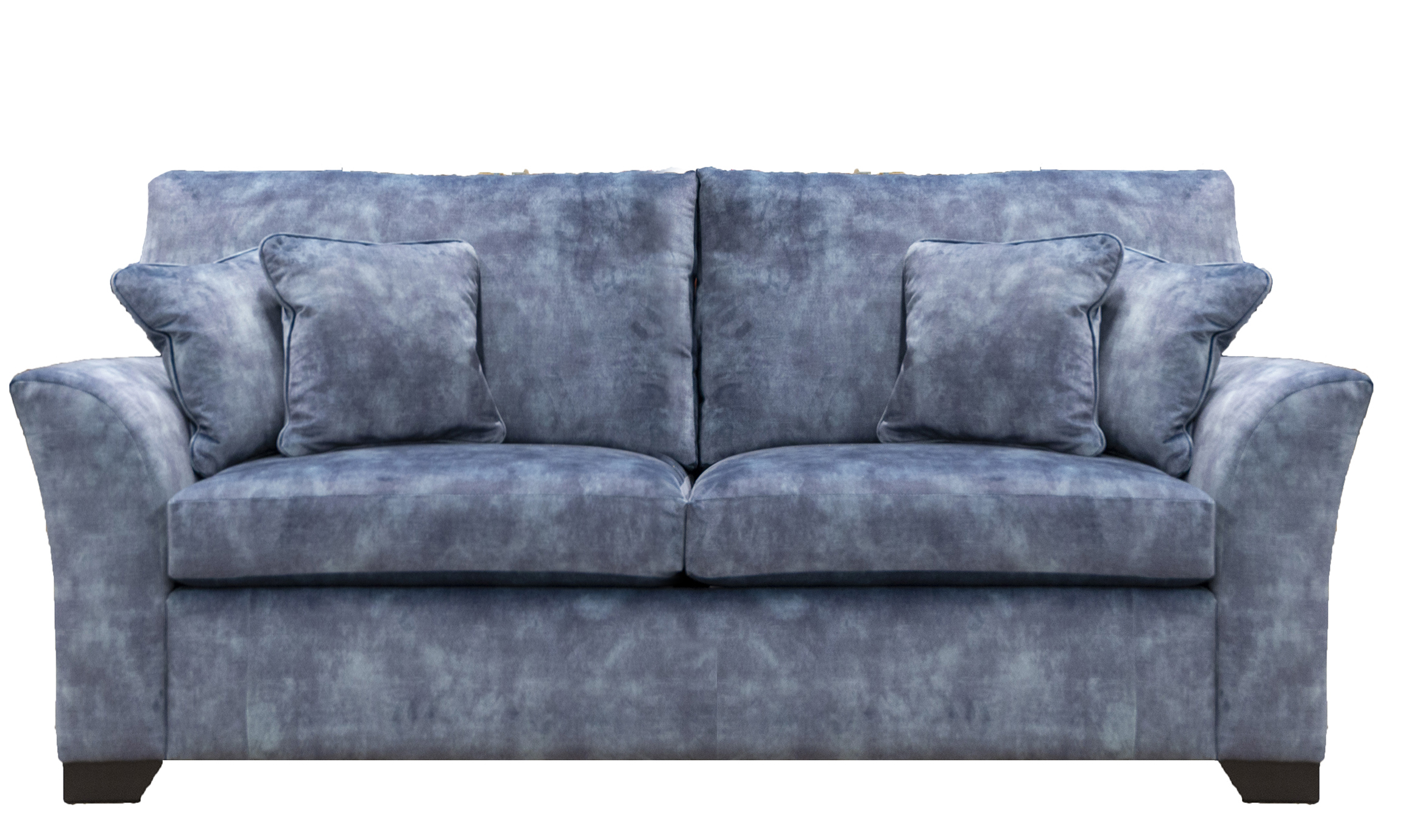Malton 3 Seater Sofa in Lovely Atlantic, Gold Collection Fabric