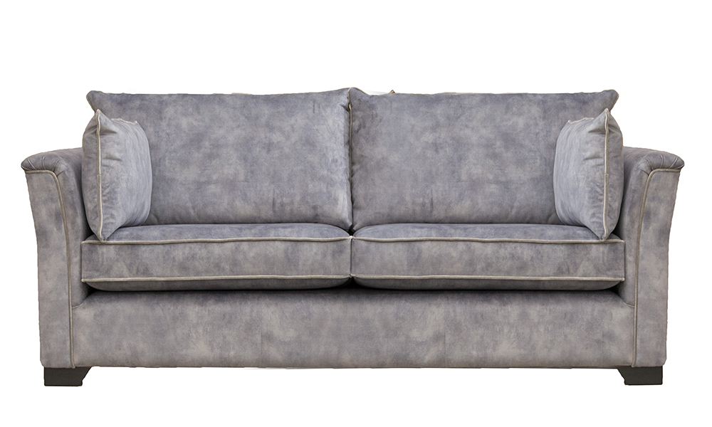 Monroe 3 Seater in Lovely Armour, Gold Collection Fabric - 40556