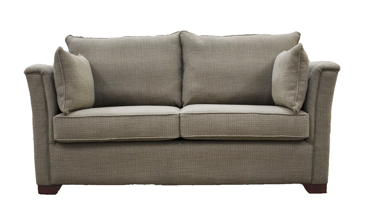 Monroe 2 Seater Sofa in a Bronze Collection Fabric