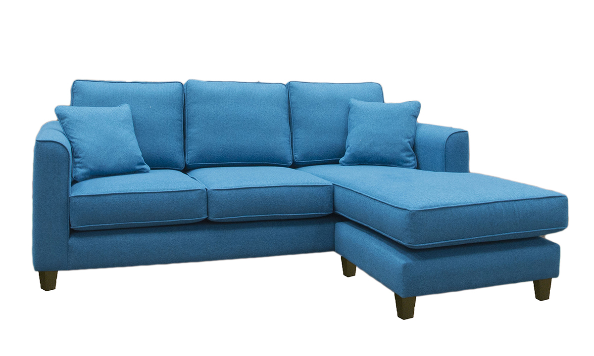 Nolan 3 seater Chaise End Sofa Discontinued Fabric