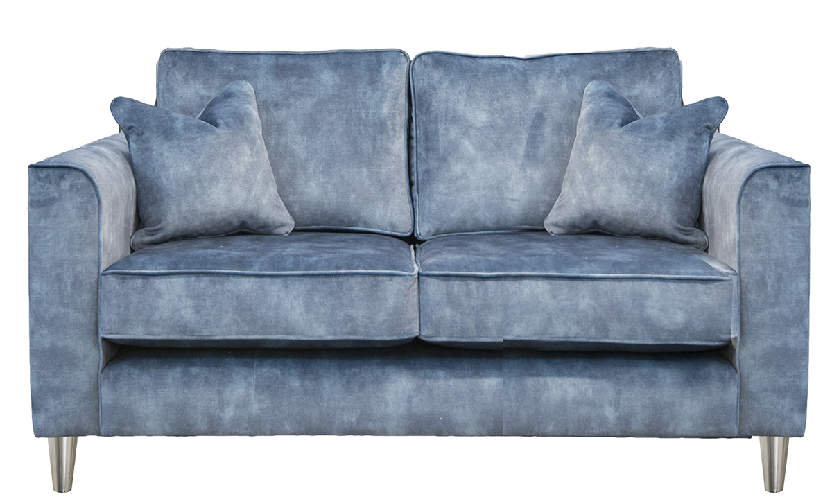 Nolan 2 Seater Sofa in Lovely Atlantic, Gold Collection Fabric