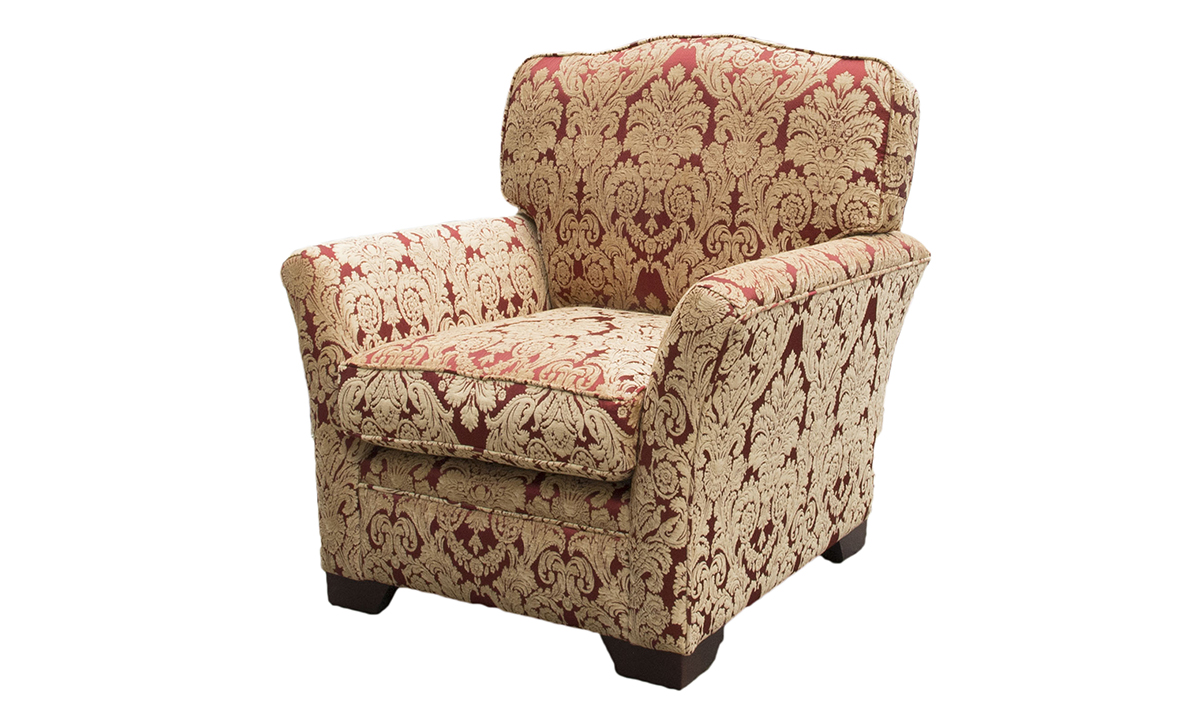 Othello Chair in Discontinued Fabric