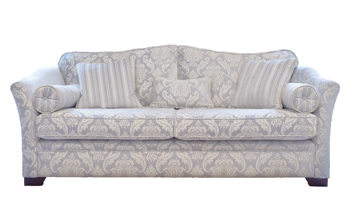 Othello 3 Seater Sofa in Tolstoy Pattern Ocean Platinum Collection