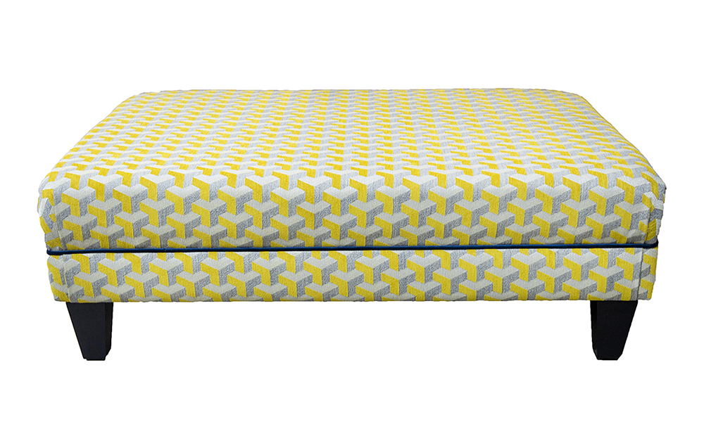 Ottoman-in-Levonne-Mustard-Silver-Collection-Fabric
