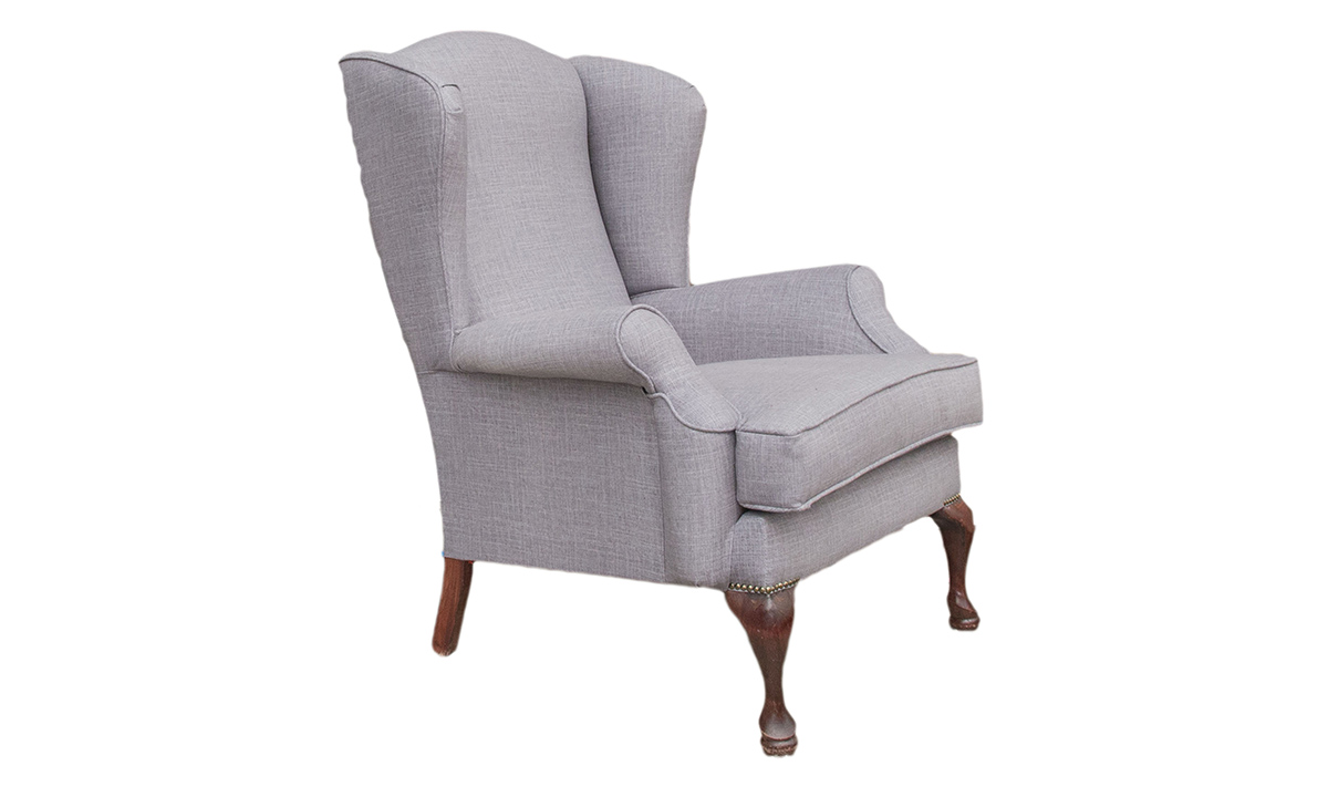 Queen Anne Chair Discontinued Fabric