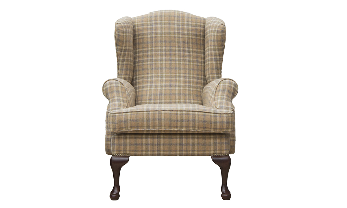 Queen Anne Chair in Art of the Loom
