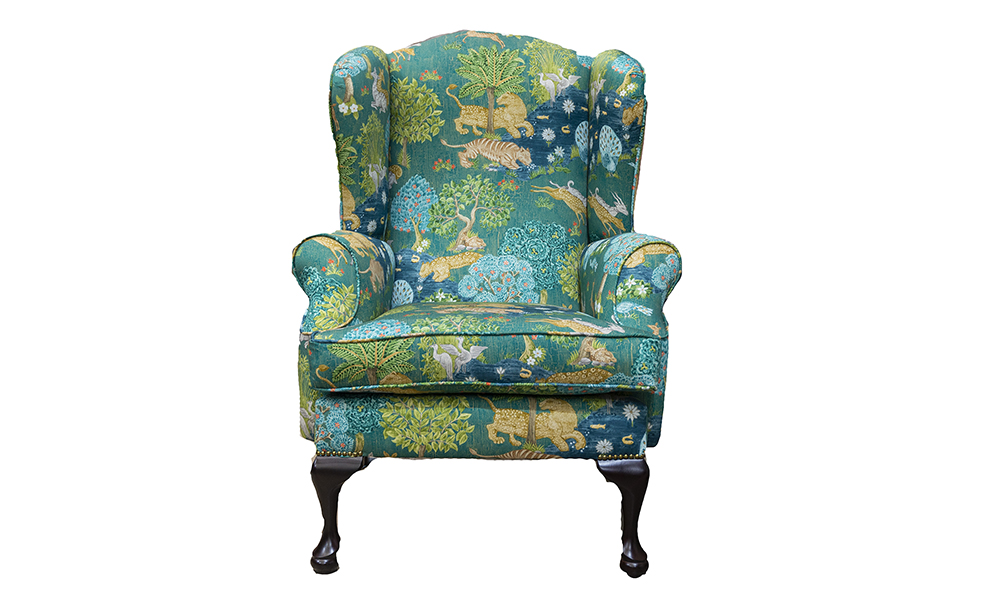 Queen Anne Chair Customers Own Fabric