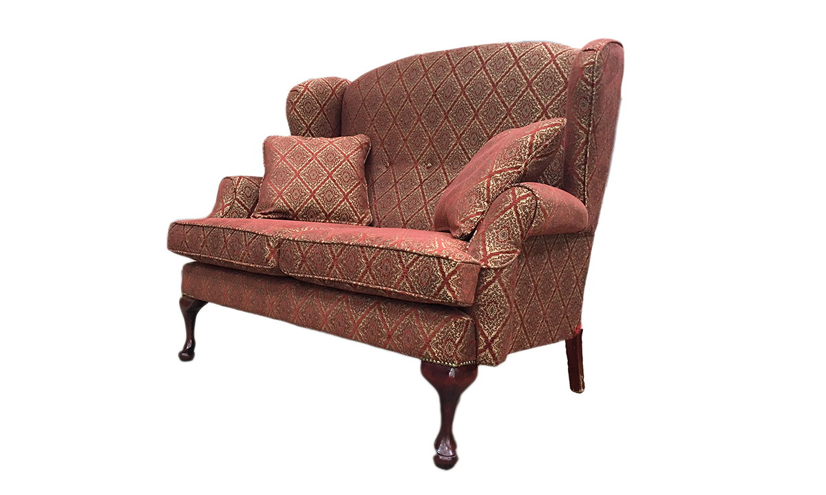 Queen Anne 2 Seater Discontinued Fabric