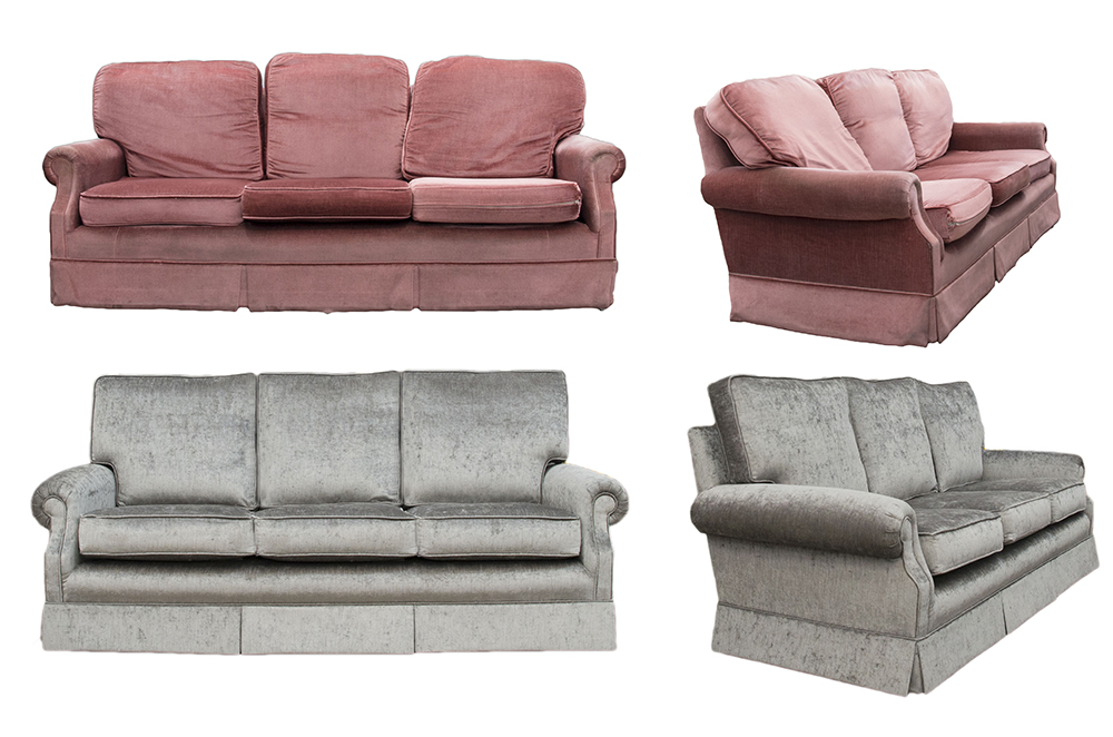 Clare Large Sofa Before & After