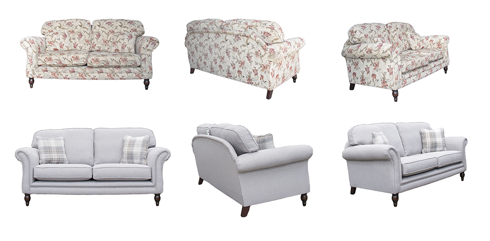 Elton Sofa Before & After